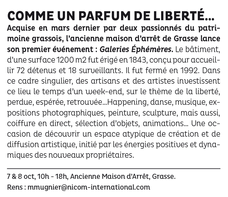 LA STRADA – L'essentiel De La Culture Au Pays Des Paradoxes – 25/09-8/10 2017