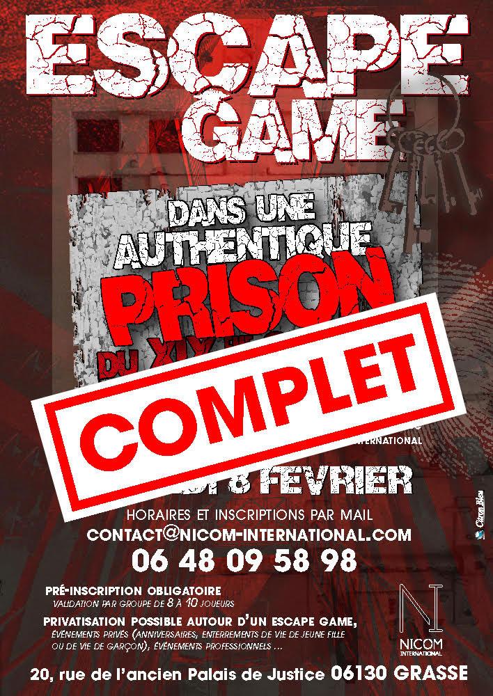 Escape Game Du 08/02/2020