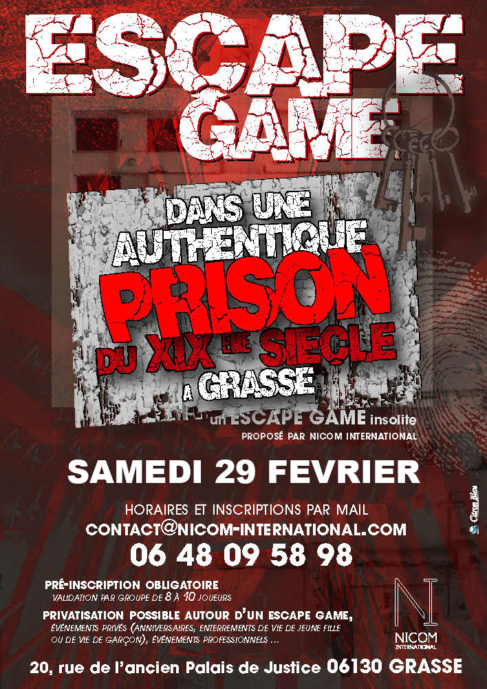 Escape Game Du 29/02/2020